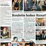 Roulette hoher Kunst! (Bezirksblätter Telfs, 02.11.2011)