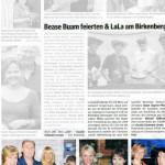 Lala am Birkenberg (Bezirksblatt, 27.05.2009)