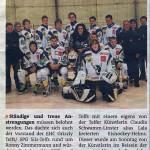 Belohnung für Eishockey-Goalie (13.12.2012)