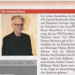 Auch 2013 wieder viel Kunst im Mesnerhaus (Monat, 2013)