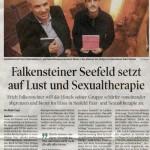 Falkensteiner Seefeld setzt auf Lust und Sexualtherapie (Tiroler Tageszeitung, 09.02.2012)